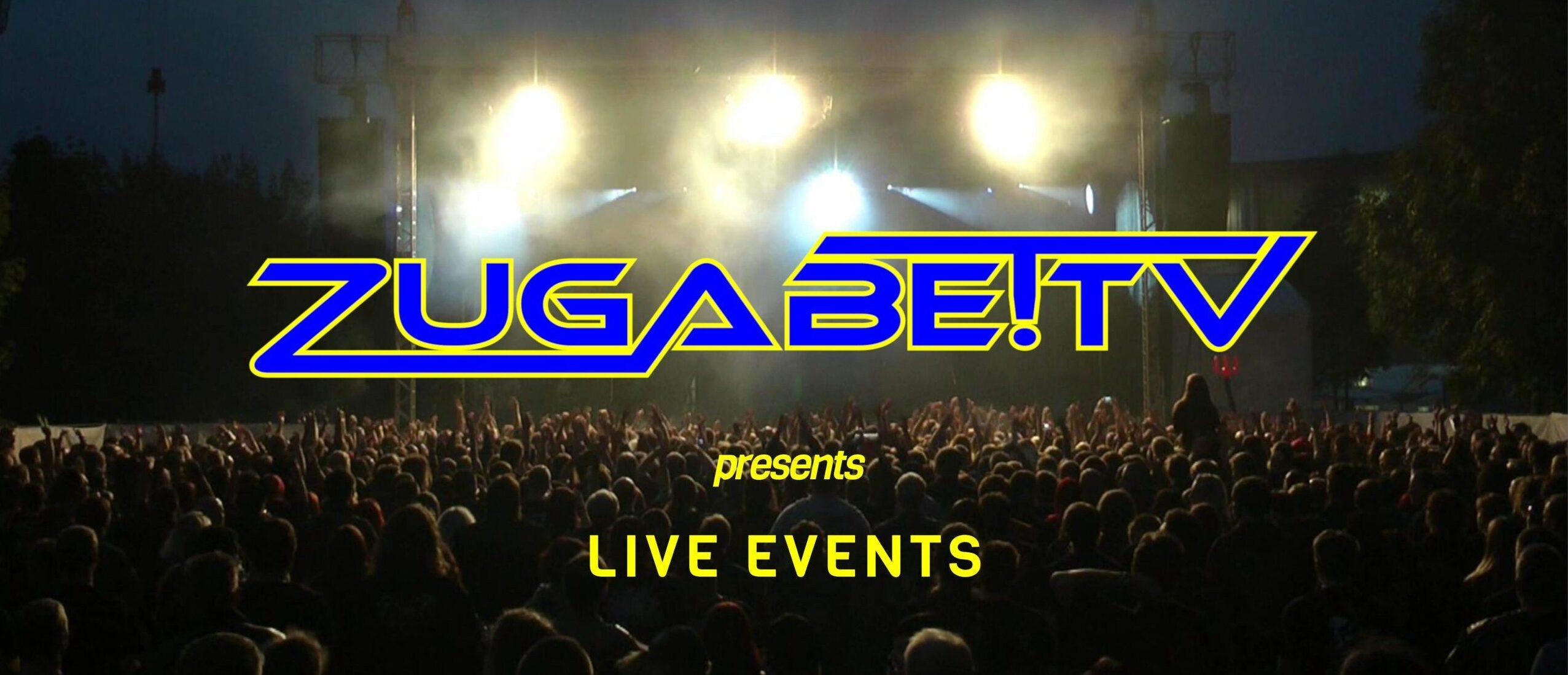 ZUGABETV Konzertaufzeichnungen, Videoproduktion, Livestream Dresden
